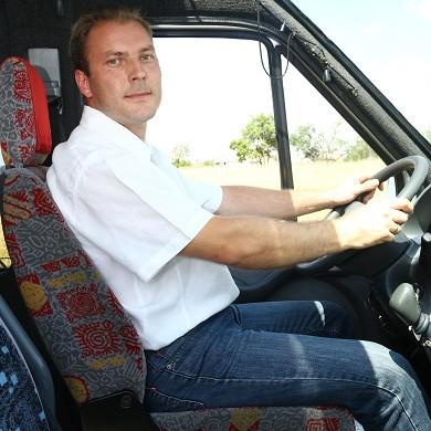 Daniel kierowca w Autobusie